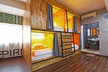 MM Capsule Hostel Medan - Double Bed in Mixed Domitory Room Regular Plan