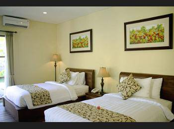 Kadiga Villas Ubud - Vila, 1 Tempat Tidur Twin, pemandangan kolam renang Regular Plan