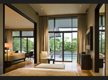 Capella Singapore - One Bedroom Garden Villa Diskon: 10%
