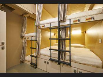 Central 65 Hostel & Cafe Singapore - 2 beds in 16-Bed Mixed Shared Room (Single Bed) Diskon 20%