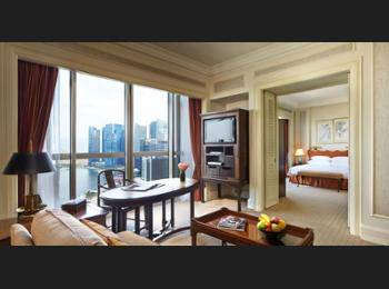 Swissotel The Stamford Singapore - Crest Suite, 1 King Bed, City View Regular Plan