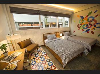 Lokal Hotel Yogyakarta - Kamar Twin Deluks Regular Plan