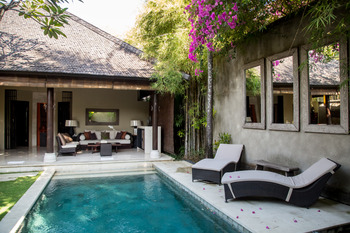 Villa Air Bali Seminyak - Garden Pool Villa Two Bedroom Regular Plan