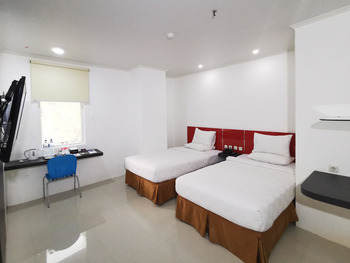 Heavenly Land Hotel Palembang Palembang - Deluxe Twin Room Only HEAVENLY HAPPY - HAPPY