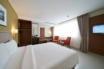 Kokoon Hotel Surabaya Surabaya - Deluxe Queen Bed Room Only Promo Stay Hepi