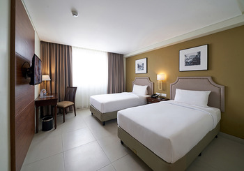 Kokoon Hotel Surabaya Surabaya - Superior Plus Twin Bed Promo Stay Hepi