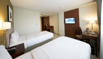 Kokoon Hotel Surabaya Surabaya - Superior Twin Bed Room Only Promo Stay Hepi