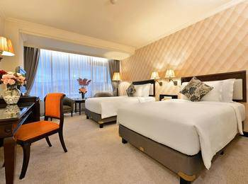 Grand Aquila Hotel Bandung - Executive Deluxe Twin Bed Regular Plan