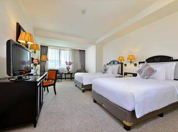 Grand Aquila Hotel Bandung - Superior Deluxe Twin Room Only Regular Plan