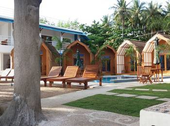 The Place Bungalow & Restaurant Sekotong Lombok - Deluxe Bungalow Twin Bed With Fan Save 10%
