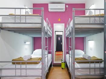 CX Hostel Legian Kelod Bali - Bunk Bed Dormitory (Kamar Berbagi) - Harga Untuk 1 Orang Regular Plan