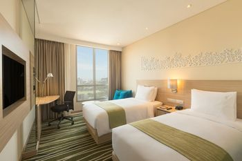 Holiday Inn Express Semarang Simpang Lima, An IHG hotel Semarang - Standard Room 2 Twin Bed Non Smoking Regular Plan