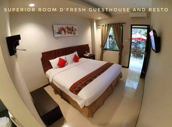 D'Fresh Hotel & Resto Malang - Superior Room Only Promo
