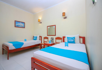 Airy Eco Pelabuhan Makassar Bali 40 - Standard Twin Room With Breakfast Special Promo Oct 47