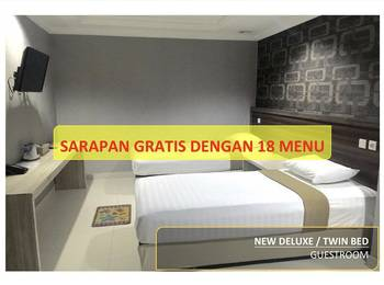 Hotel 95 Pontianak - New Deluxe Room (Gedung Baru) Regular Plan