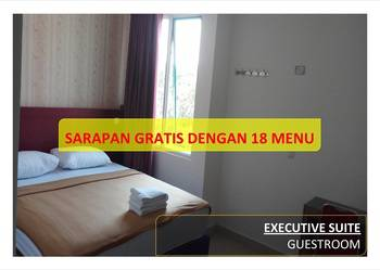 Hotel 95 Pontianak - Executive Suite (New Building) - Promo PEYUK Regular Plan