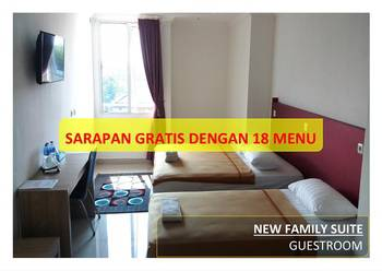 Hotel 95 Pontianak - New Family Suite  Regular Plan