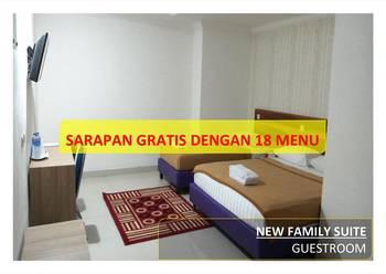 Hotel 95 Pontianak - New Family Suite (Gedung Baru) Regular Plan