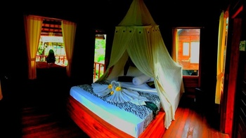 Pondok Tepi Sungai Bali - Deluxe Double Room Regular Plan