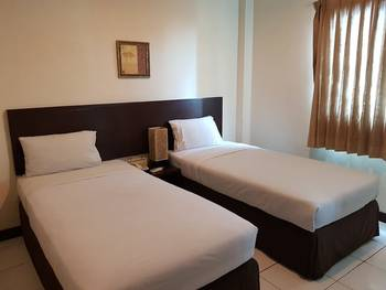 N1 Hotel Tanah Abang Jakarta - Deluxe Twin Room Only Regular Plan