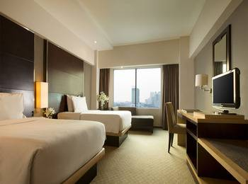 Hotel Santika Premiere Jakarta - Deluxe Twin Room Deal Of The Day Regular Plan