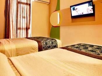 Dewarna Hotel Malang - Deluxe Twin Room Regular Plan