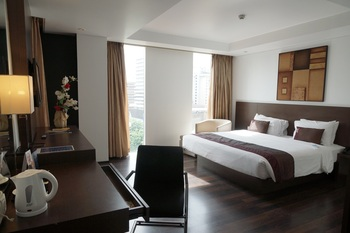 Akmani Hotel Jakarta - Deluxe King Room Only Regular Plan