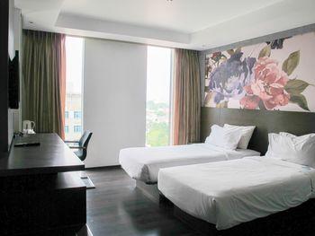 Akmani Hotel Jakarta - Deluxe Twin With Breakfast Regular Plan