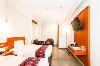 Sahira Butik Hotel Bogor - Deluxe Twin Room Only Regular Plan