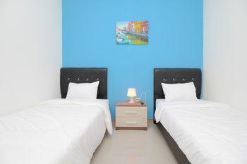 Athena Residence Syariah Tangerang - Standard Twin Room Only Gajian