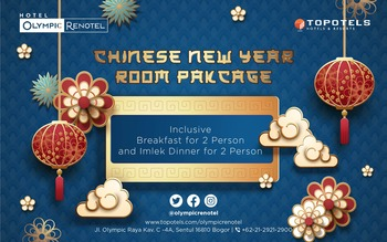 Olympic Renotel Sentul - Deluxe Chinese New Year 2020 Regular Plan