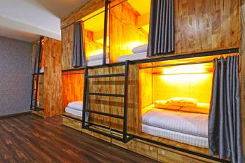 MM Capsule Hostel Medan - Budget Double Room  Minimum Stay of 3 Nights Promotion