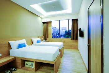 Desatu Hotel Medan - Premium Twin  Regular Plan