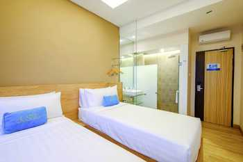 Desatu Hotel Medan - Deluxe Twin Regular Plan