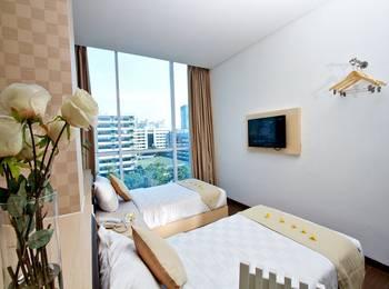Hotel 88 Grogol - Deluxe Twin With Breakfast early bird booking
