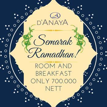 Hotel D'Anaya Bogor - Semarak Ramadhan Package Deluxe Double Bed Room Regular Plan