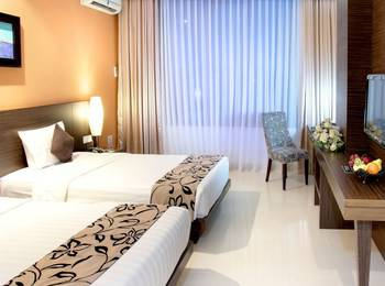 Grand Pacific Hotel Bandung - Deluxe Twin Room Only Regular Plan