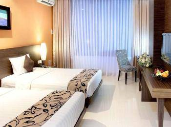 Grand Pacific Hotel Bandung - Deluxe Twin Room Only No Amenities Regular Plan