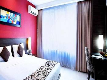 Grand Pacific Hotel Bandung - Deluxe King Room Only Regular Plan