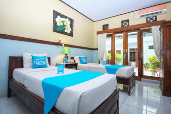 Airy Eco Legian Lebak Bene Kuta Bali - Deluxe Twin Room Only Regular Plan