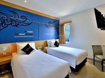 Zodiak Kebonjati by KAGUM Hotels Bandung - Superior Twin Room Only Regular Plan