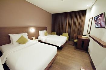 Hotel Hemangini Bandung - Superior Twin Room Only Regular Plan