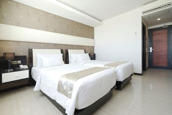 Princess Keisha Hotel & Convention Center Syariah Bali - Standard Twin Room Regular Plan