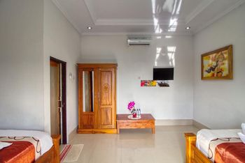 Manta Cottage With Sea View Bali - Deluxe Twin Room with Sea View Regular Plan