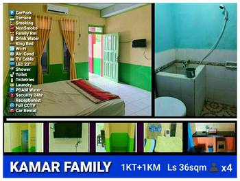 RAINBOW Singkawang Singkawang - Family Suite Regular Plan