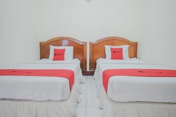 RedDoorz near Transmart Jambi Jambi - RedDoorz Premium Twin Room Regular Plan
