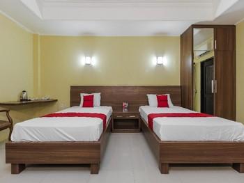 RedDoorz near Taman Samarendah Samarinda - Twin Room Basic Deal