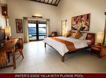 Hotel Cocotinos Sekotong Lombok - 1 Bedroom Water Edge Villa With Plunge Pool & Beach Regular Plan