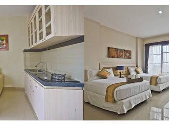 Anumana Bay View Bali - Kamar Deluxe Double atau Twin dengan dapur - dengan sarapan Minimum Stay 3 Nights Non Refund!!