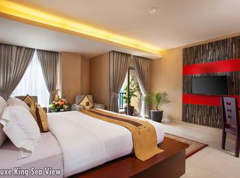 Lion Hotel & Plaza Manado - Deluxe King Sea View With Breakfast Regular Plan